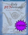 for Bass clef instruments PAPER