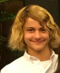 Jackson, 7th grade clarinetist