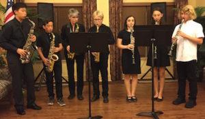 students play together at recitals